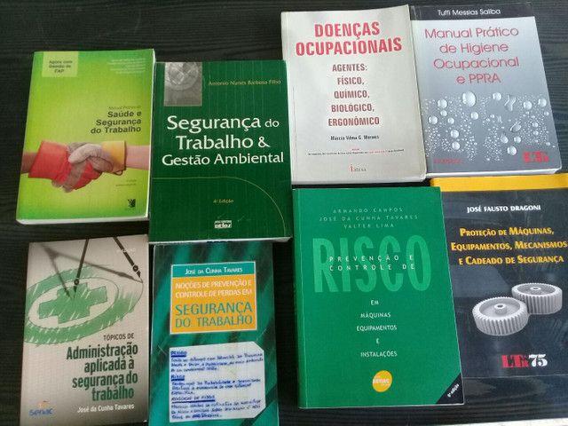 Livros segurança do trabalho