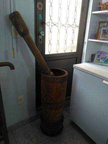 Pilão de madeira. - Foto 5