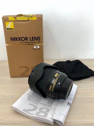 Lente Nikon 28 mm 1.8 - Foto 3
