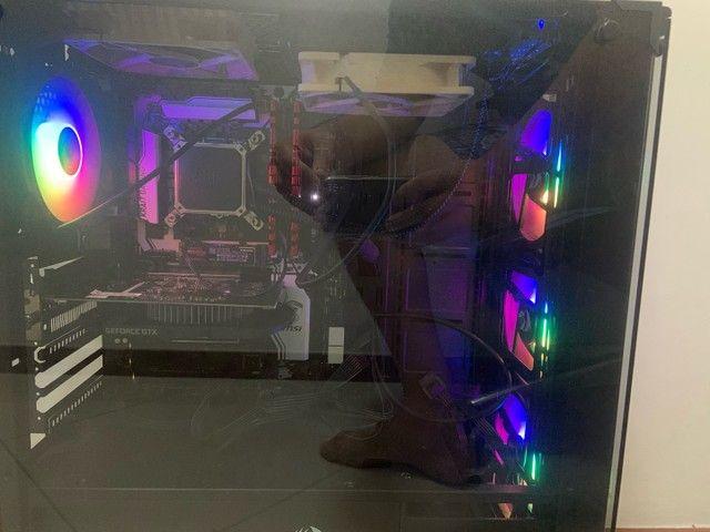 Computador gamer i7 7700k 1050ti 16gb ddr4 ssd 256gb - Foto 2