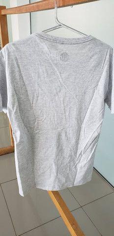 Camiseta club denim cinza - Foto 3