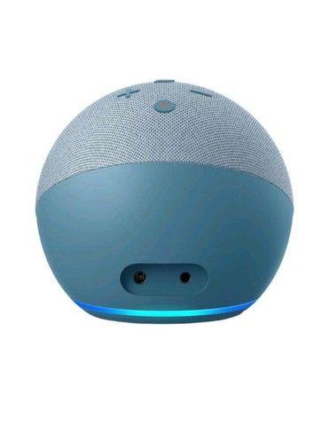 Alexa Echo Dot 4 Geração Original Amazon Lacrada em Portugues - Foto 3