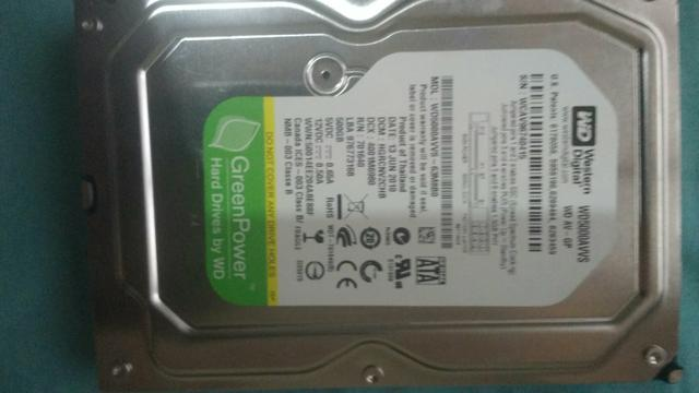 Hd wd 500 gb