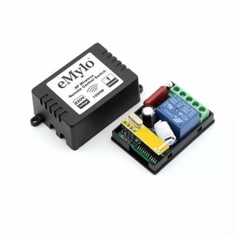 Relé RF 433 MHz- Automação - 220v - Emylo