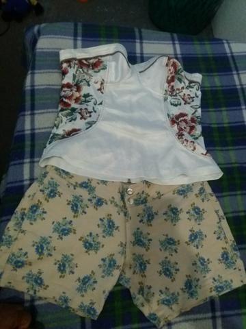 Troco Blusa e Short