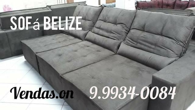 Sofá Belize 3 Blocos Retrátil e Reclinável. * 9. *