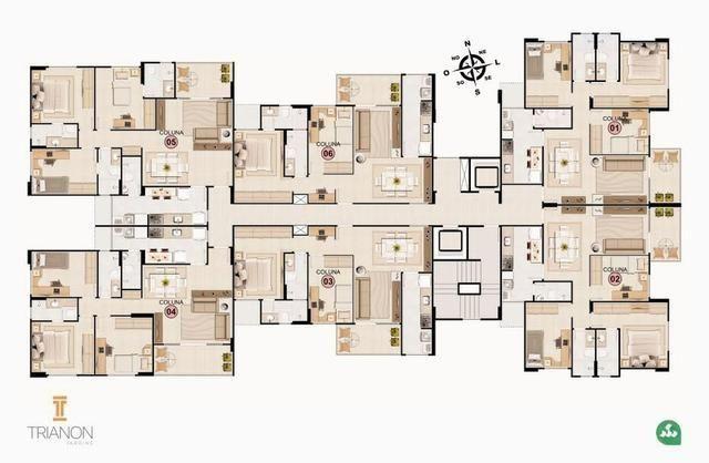 Apts Trianon Jardins (8º andar ) leste - Foto 6