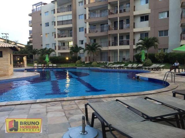 Apartamento residencial à venda, Porto das Dunas, Aquiraz - AP0521.