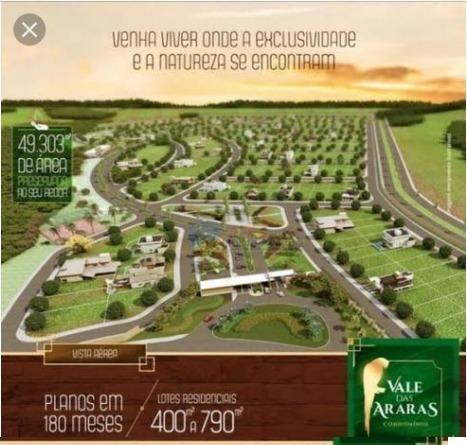 Lote Vale das Araras 420m² - Rio Verde (Urgente!!) - Foto 3