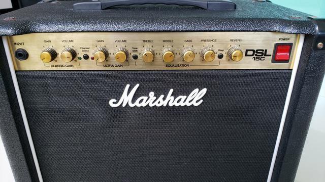 Marshall DSL 15C - Combo valvulado 15W 1x12 - Foto 4