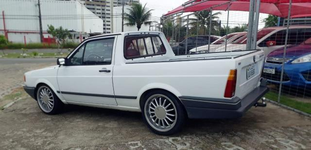 Volkswagen saveiro 1994/1995 1.6 cl cs 8v gasolina 2p manual - Foto 4