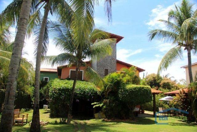 Casa com 4 dormitórios para alugar, 400 m² por r$ 700/dia - itacimirim - camaçari/ba