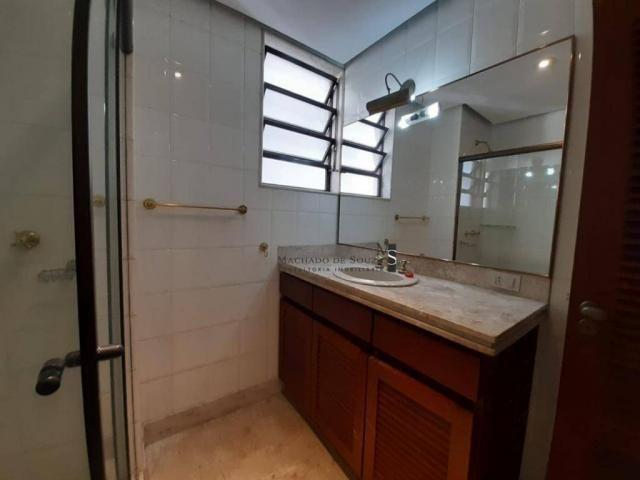 Apartamento com 3 dormitórios para alugar, 130 m² por R$ 3.700/mês - Laranjeiras - Rio de  - Foto 16