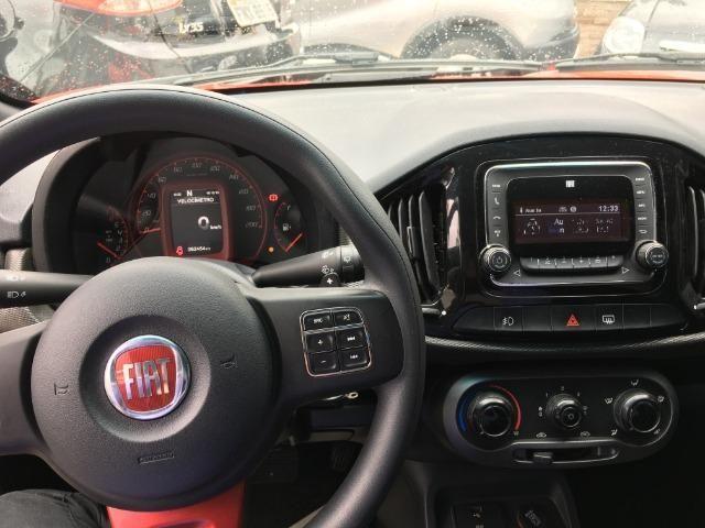 Fiat Uno 1.4 Evo Sporting 8v Flex 4 portas Automatizado vermelho 2015 - Foto 7