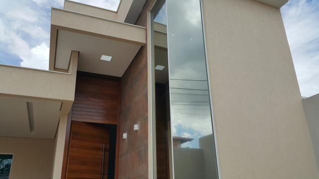 Casa nova 3quartos 3suites piscina churrasqueira rua 06 Vicente Pires condomínio - Foto 3