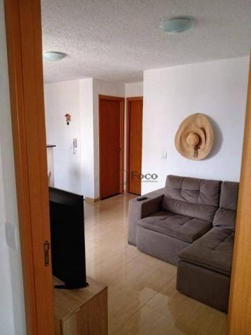 Apartamento com 2 dormitórios para alugar, 45 m² por R$ 650/mês - Água Chata - Guarulhos/S - Foto 4