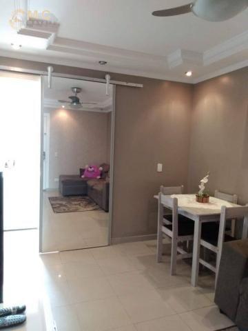 Apartamento com 3 dormitórios à venda, 50 m² por R$ 175.000 - Vila Padre Manoel de Nóbrega - Foto 3