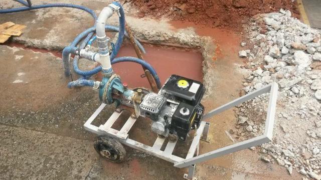 Perfuratriz de poço semi-artesiano ( MAQUINA DE FAZER POÇO ATE 70 METROS ) - Foto 2
