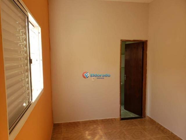 Casa com 2 dormitórios para alugar, 90 m² por R$ 1.200/mês - Parque Gabriel - Hortolândia/ - Foto 9