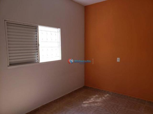 Casa com 2 dormitórios para alugar, 90 m² por R$ 1.200/mês - Parque Gabriel - Hortolândia/ - Foto 5