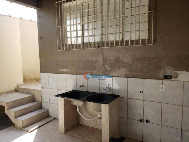 Casa com 2 dormitórios para alugar, 90 m² por R$ 1.200/mês - Parque Gabriel - Hortolândia/ - Foto 17