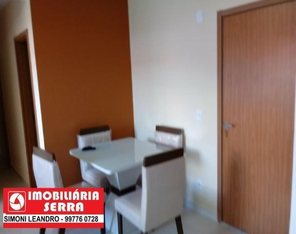 SCL - 05 - Aluga - se Apartamento 2 Qtos com suíte, com mobilia - Foto 2