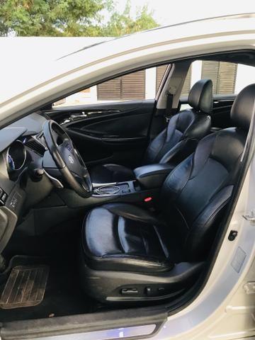 Sonata 2012 GLS versão Mais Top Aro 18 - Foto 9