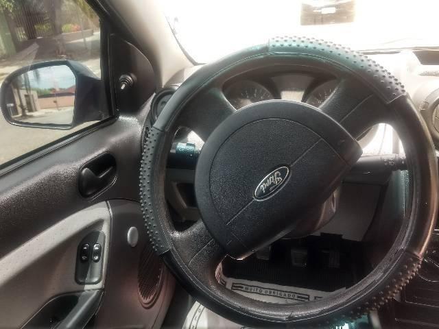 Vendo Ford Fiesta Hatch Preto Flex 2008 - Foto 4