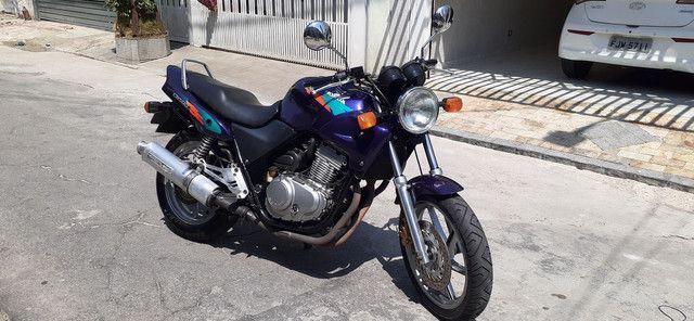 Cb500 vende ou troca por moto menor ou carro - Foto 4