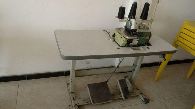 Maquina de costura OVERLOCK INDUSTRIAL COMPLETA
