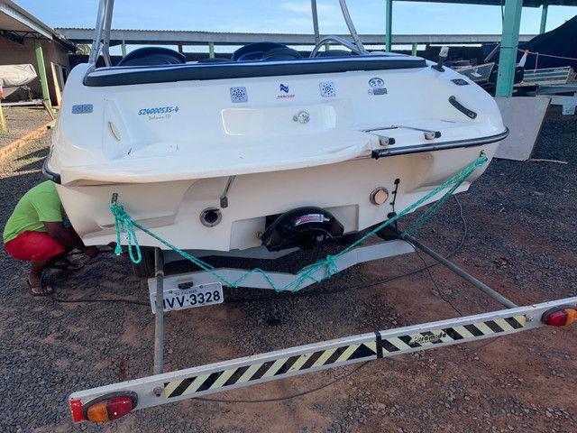 Lancha Jet boat colunna mercury 250 HP - Foto 2