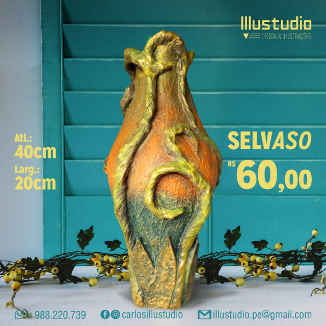 Vasos decorativos - Vários modelos