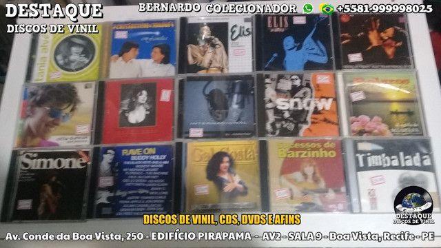 Discos de Vinil de Novelas, E Outros Tipos, CDs e DVDs