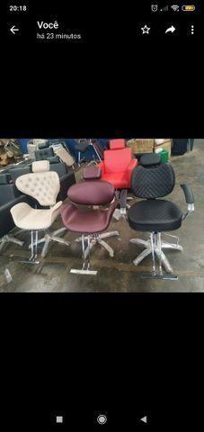 Cadeira e lavatório para salão de beleza - Foto 4