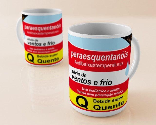Caneca Personalizada Porcelana - Foto 4