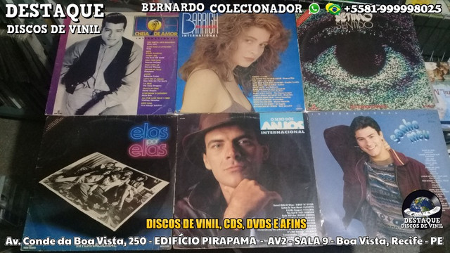 Discos de Vinil de Novelas, E Outros Tipos, CDs e DVDs - Foto 4