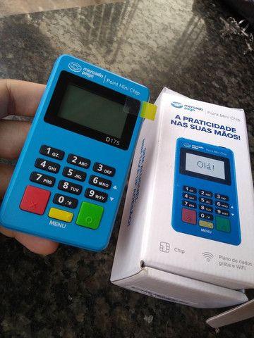Máquina de cartão Point Mini chip - Foto 3
