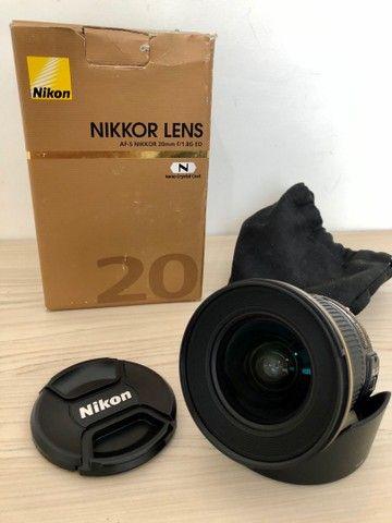 Lente Nikon 20 mm 1.8 - Foto 3
