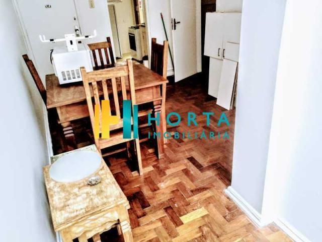 Apartamento à venda com 1 dormitórios em Copacabana, Rio de janeiro cod:CPAP11064 - Foto 2