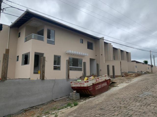 Sobrado geminado bairro Itoupava Central - Foto 2