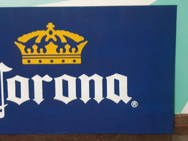Corona letreiro/placa - Foto 4