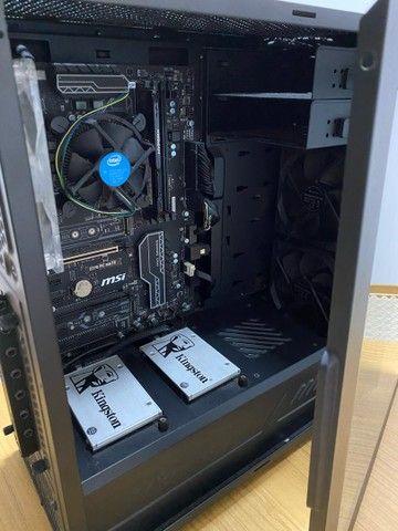 PC Desktop SSD 120 HD 500 8GB RAM - Foto 4