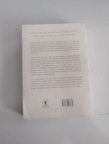 Livro Rápido e Devagar: Duas Formas de Pensar - Foto 4