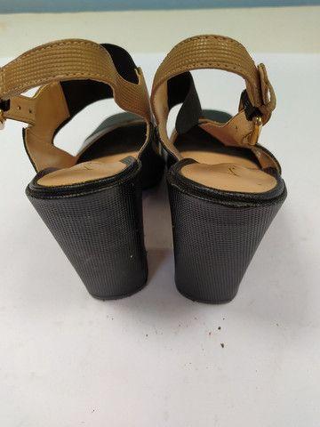 Sandália muito nova n 35 - Foto 4