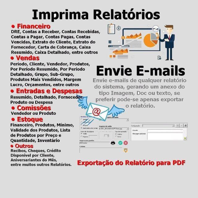 Frente de Caixa, Software PDV, Controle Estoque, Financeiro, Despesas - Manaus - Foto 4