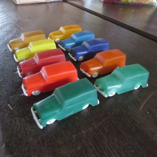 carrinhos de plástico antigos modelo da promoção toddy  - Foto 2