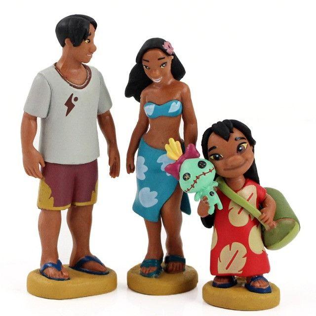 Bonecos Lilo E Stitch Coleção Boneco Disney Pronta Entrega - Foto 4
