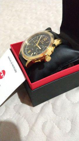 Relógio masculino novo na caixa Technos - Foto 6