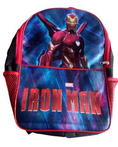 Mochila Escolar Infantil Iron Man