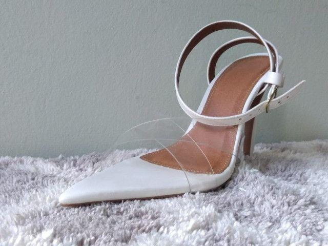 Combo sandálias bico folha (dois pares ) - Foto 5